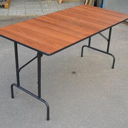 Мебель для учреждений - Складной стол на металлокаркасе, 0