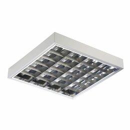 Наборы электроинструмента - Светильник ARS/R 4x18 HF для потолка Грильято ЭПРА, 0