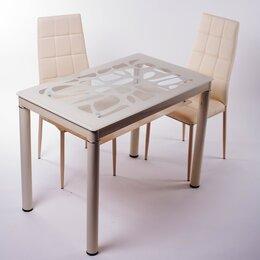 Столы и столики - Стол обеденный бежевый, 100*60, 0