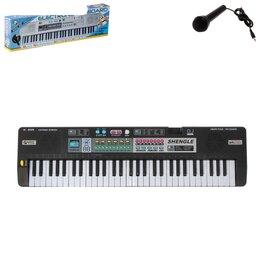 Клавишные инструменты - Синтезатор Кантри с микрофоном, 61 клавиша, 0