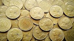 Монеты - Монеты Франции. 10с., 0