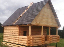 Готовые строения - Дом из бревна, 0