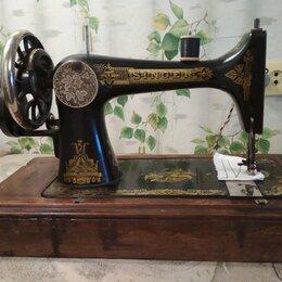 Швейные машины - ШВЕЙНАЯ МАШИНА ЗИНГЕР 1908 Г В хорошем рабочем состоянии., 0