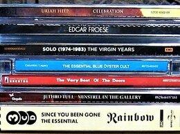 Музыкальные CD и аудиокассеты - Набор компакт-дисков. 6 наименований. (13 CD.), 0