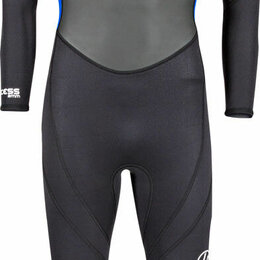 Защита и экипировка - Гидрокостюм детский HYPERFLEX Access 3/2mm BZ black/blue-43, 176/16, 0
