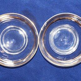 Кружки, блюдца и пары - Посуда СССР (стекло) розетки для варенья, 0