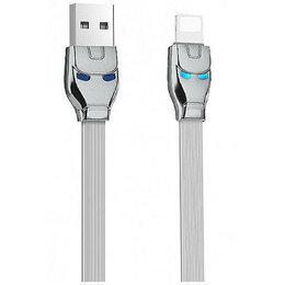Зарядные устройства и адаптеры - USB кабель HOCO U14 Steel Man Lightning Charging…, 0