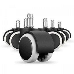Компьютерные кресла - Резиновые ролики для кресел, комплект 5шт., 0