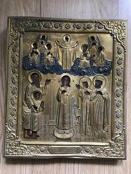 Иконы - Икона Покрова Пресвятой Богородицы 18в., 0