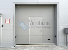 Заборы и ворота - Секционные ворота промышленного назначения с…, 0