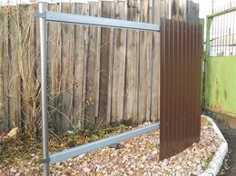 Заборы и ворота - Столбы металлические для забора Курлово, 0