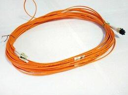 Кабели и разъемы - Кабель патч-корд оптический Duplex MM LC-LC 15m 50, 0