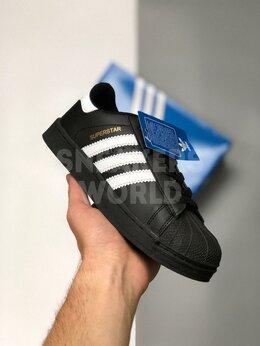 Кроссовки и кеды - Adidas Superstar черные, 0