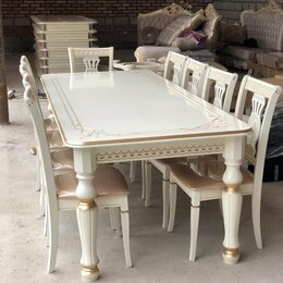 Столы и столики - Стол Прайм (массив бука), 0