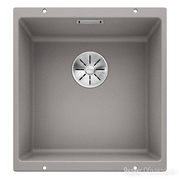 Мойка для кухни BLANCO SUBLINE 400-U алюметаллик по цене 14900₽ - Кухонные мойки, фото 0