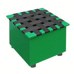 Мебель для учреждений - Стул металлический на роликах, 0