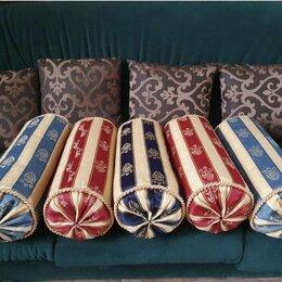 Декоративные подушки - Валики диванные 7 шт , 0