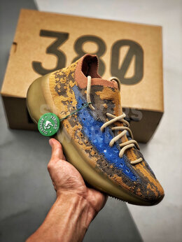 Кроссовки и кеды - Adidas Yeezy Boost 380 Blue Oat, 0