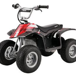 Электромобили - Электро-квадроцикл для детей и подростков razor dirt quad , 0