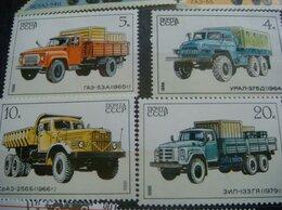 Марки - Марки грузовики 1986 год 5 шт, 0