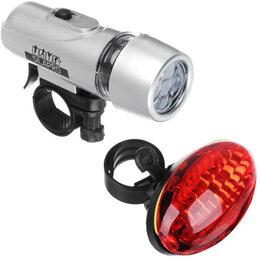 Фонари - Набор фонарей, 2 шт., задний + передний, SILAPRO, 0