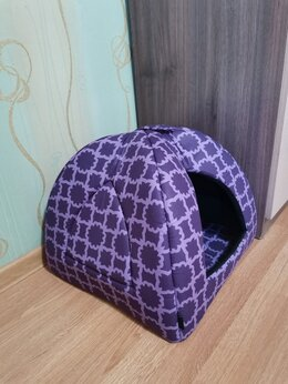 Лежаки, домики, спальные места - Домик для животных (кошек/небольших собак), 0