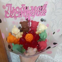 Цветы, букеты, композиции - Детские букеты из шоколадных мишек , 0