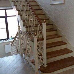 Лестницы и элементы лестниц - Лестница на второй этаж частного дома на заказ , 0