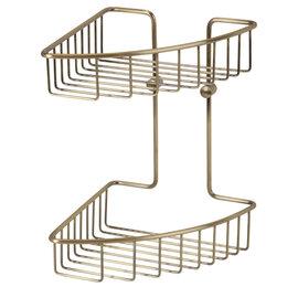 Полки, шкафчики, этажерки - Полка 20 см Basket Veragio VR.GFT-9034.BR, 0