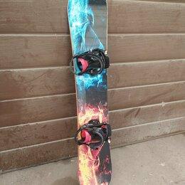 Сноуборды - Сноуборд комплект на рост 175-180, 0