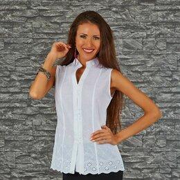 Блузки и кофточки - Блуза хлопок р-ры 44, 46 и 48, 0