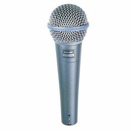 Микрофоны - SHURE BETA 58A вокальный динамический микрофон, 0