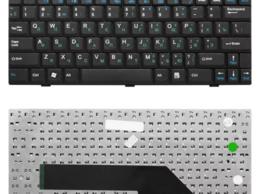 Клавиатуры - Клавиатура MSI Wind U90 U100 U110 U120 черная, 0