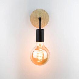 Бра и настенные светильники - Бра в стиле лофт сканди, 0