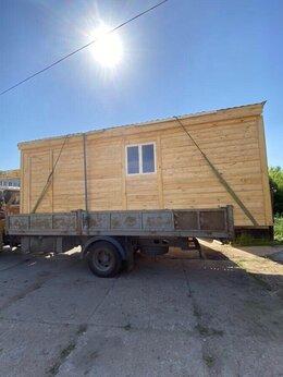 Готовые строения - Бытовка деревянная одно окно А-512, 0