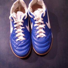 """Обувь для спорта - Бутсы-""""футзалки""""/кроссовки Найк оригинал, подростковые, размер 37, 0"""