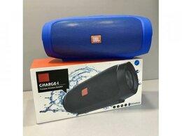 Портативная акустика - Колонка JBL чардж 4 Blue. 20 см. 22 ватт, 0