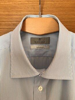 Рубашки - Canali made in Italy рубашка б/у размер 44/17,5, 0