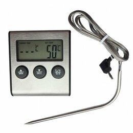Метеостанции, термометры, барометры - Термометр с проводным термосенсором и звуковым…, 0