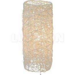 Ночники и декоративные светильники - Настольная лампа интерьерная из ротанга 2582 Е27…, 0