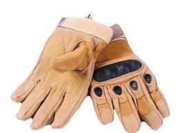 Перчатки и варежки - Перчатки тактические OKLAI, песочные, 0