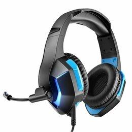 Наушники и Bluetooth-гарнитуры - Игровые наушники с микрофоном USB+jack, 0