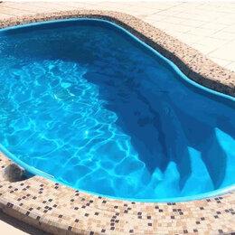 Бассейны - Бассейн пластиковый 4,0 х 2,0 х 1,2м (6,6 куб.м), 0