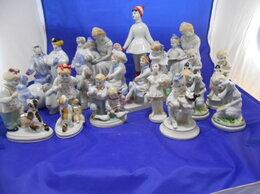 Статуэтки и фигурки - Коллекция фарфоровых статуэток Счастливое детство, 0
