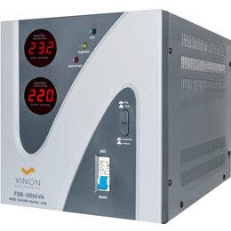 Стабилизаторы напряжения - Стабилизатор сетевой Vinon FDR-10000 VA…, 0