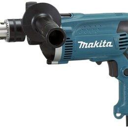 Дрели и строительные миксеры - Дрель ударная MAKITA HP1630K, 0