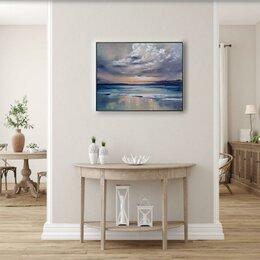 """Картины, постеры, гобелены, панно - Картина маслом """"Синий океан"""", 0"""