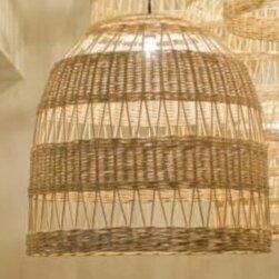 Люстры и потолочные светильники - Плетеные люстры абажуры , 0