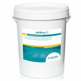 Прочие хозяйственные товары - pH-минус (PH minus), 35 кг ведро, порошок для понижения уровня рН воды, 0