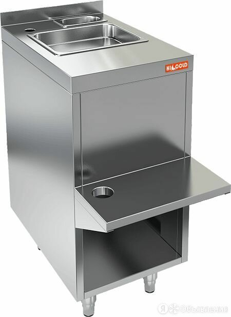 Стол пристенный закрытый Hicold НБМБП-4/6Б по цене 19318₽ - Мебель для учреждений, фото 0